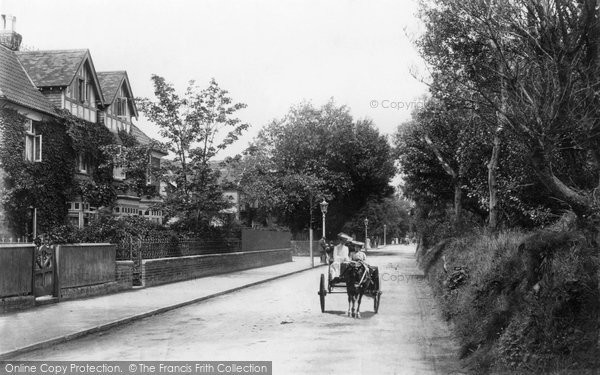 Burnham On Sea, Berrow Road 1907