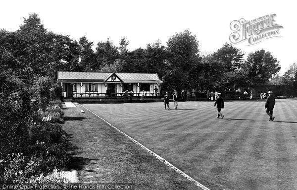 Burnham On Sea, Bowling Green 1926