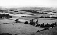 Burnham-On-Sea, Brean Down From Brent Knoll c.1955