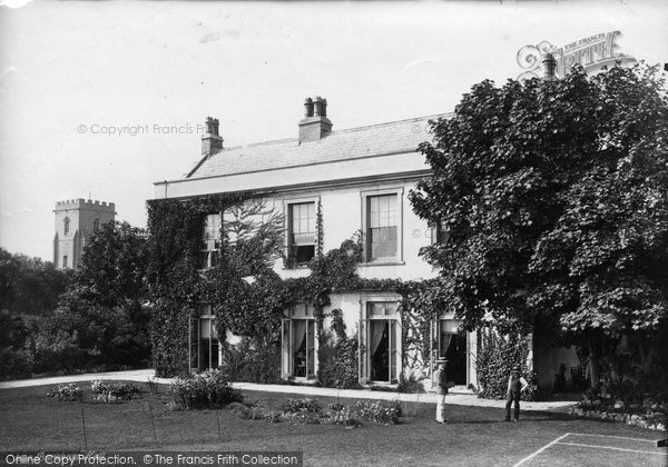 Burnham On Sea, Burnham Hall 1887