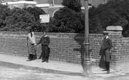 Burnham-On-Sea, Children In Chapel Street 1892