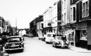Burnham-On-Sea, College Street c.1960