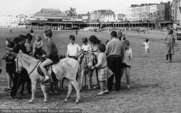 Burnham On Sea, Donkey Rides c.1960