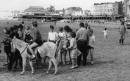 Burnham-On-Sea, Donkey Rides c.1960