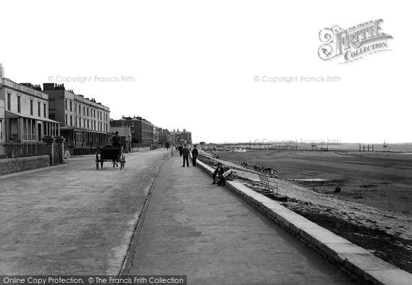 Burnham On Sea, Esplanade 1896
