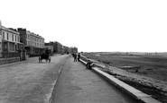 Burnham-On-Sea, Esplanade 1896