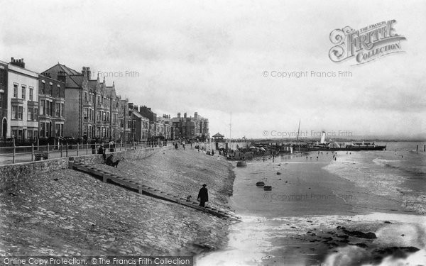 Burnham On Sea, Esplanade 1903
