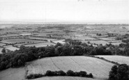 Burnham-On-Sea, From Brent Knoll c.1955