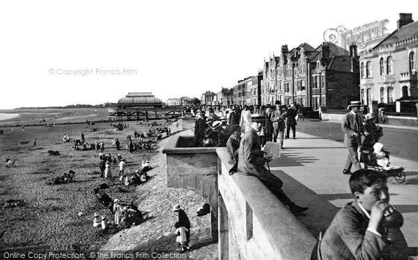 Burnham On Sea, From East 1918