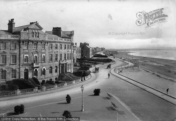 Burnham On Sea, From North 1913