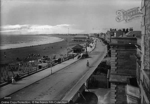 Burnham On Sea, From South 1913