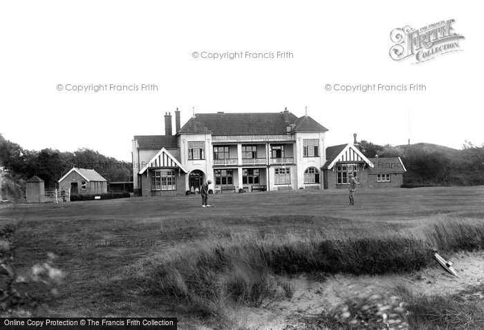 Burnham On Sea, Golf Club House 1913