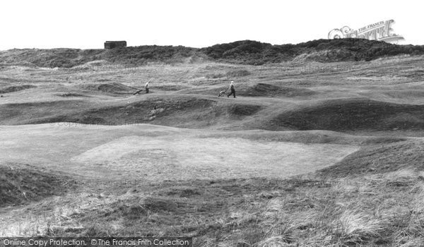 Burnham On Sea, Golf Links c.1960