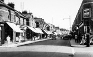 Burnham-On-Sea, High Street c.1955