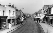 Burnham-On-Sea, High Street c1960