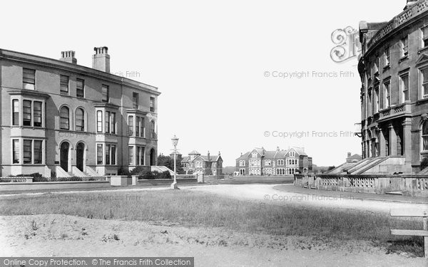 Burnham On Sea, Julia And Catherine Terraces 1887