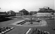 Burnham-On-Sea, Lily Pool c.1939