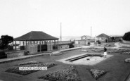 Burnham-On-Sea, Manor Gardens c.1960