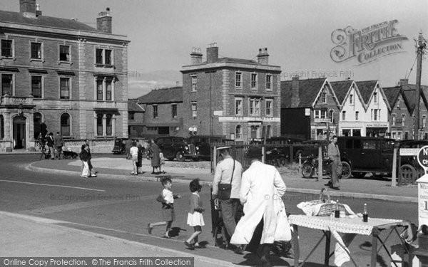 Burnham On Sea, Near Central Promenade 1939