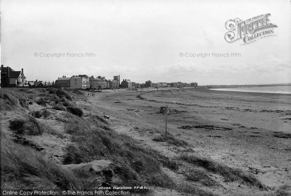 Burnham On Sea, On The Sands 1903