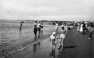 "Burnham-On-Sea, ""Paddling"" 1918"