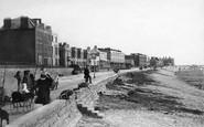 Burnham-On-Sea, Parade 1896