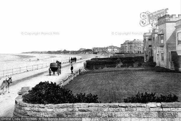 Burnham On Sea, Promenade 1907