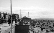 Burnham-On-Sea, Promenade And Sands c.1939