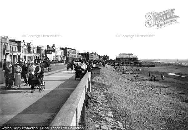 Burnham On Sea, Promenade From The West 1918