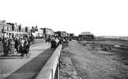Burnham-On-Sea, Promenade From The West 1918