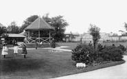 Burnham-On-Sea, Public Gardens 1907
