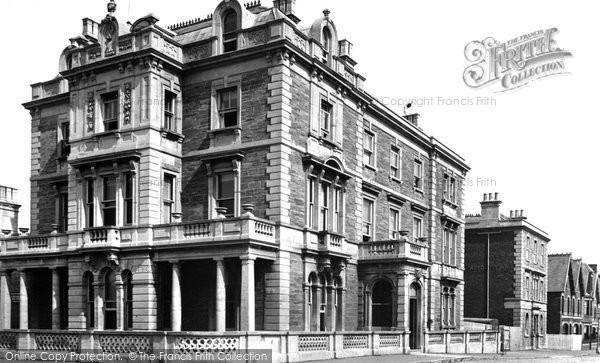 Burnham On Sea, Queens Hotel 1887