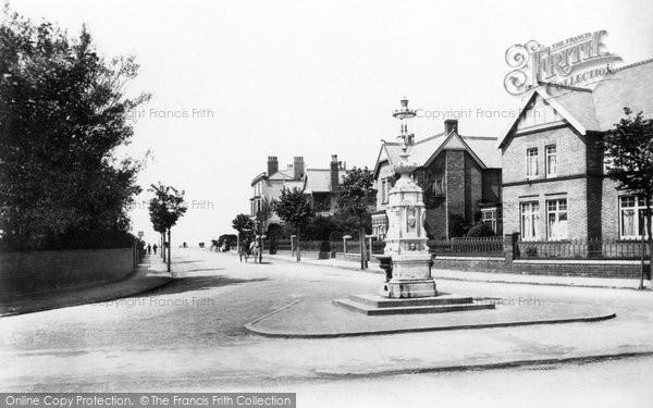 Burnham On Sea, Seaview Road 1907