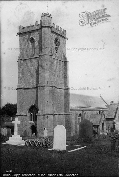 Burnham On Sea, St Andrew's Church 1887