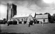 Burnham-On-Sea, St Andrew's Church c.1960