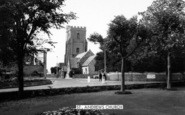 Burnham-On-Sea, St Andrew's Church c.1965