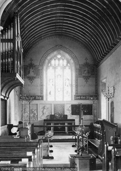 Burnham On Sea, St Andrew's Church, The Reredos 1887