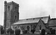Burnham-on-Sea, St Andrew's (The Leaning) Church c.1950