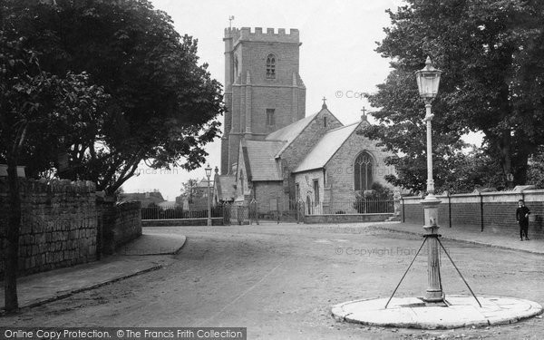 Burnham On Sea, St Andrews Church 1890