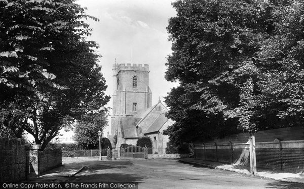 Burnham On Sea, St Andrews Church 1903