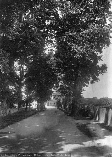 Burnham On Sea, Stodden Road 1918