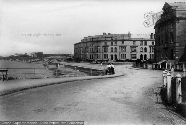 Burnham On Sea, Terrace 1896