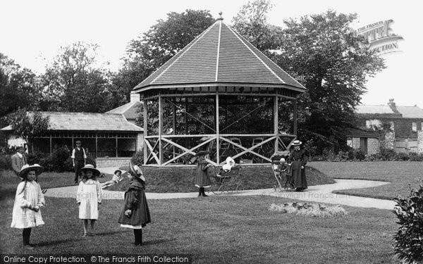 Burnham On Sea, The Bandstand 1907