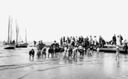 Burnham-On-Sea, The Beach 1913