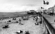 Burnham-On-Sea, The Beach c.1960