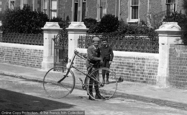 Burnham On Sea, The Bicycle 1892