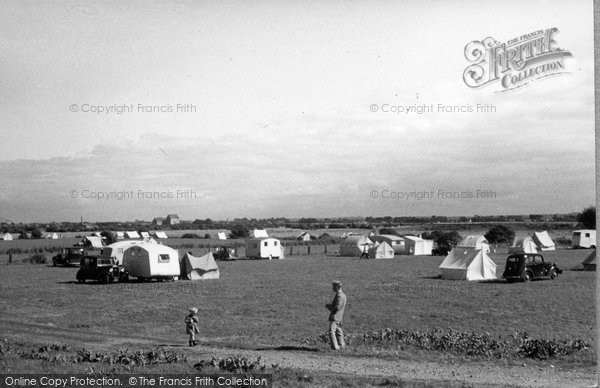 Burnham On Sea, The Camping Grounds 1939