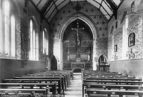 Burnham On Sea, The Convent Chapel 1907