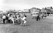 Burnham-On-Sea, The Donkeys 1963