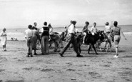 Burnham-On-Sea, The Donkeys c.1955